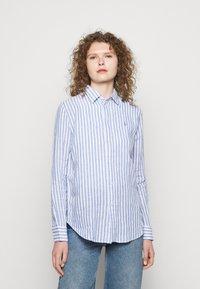 Polo Ralph Lauren - STRIPE LONG SLEEVE - Button-down blouse - white - 0