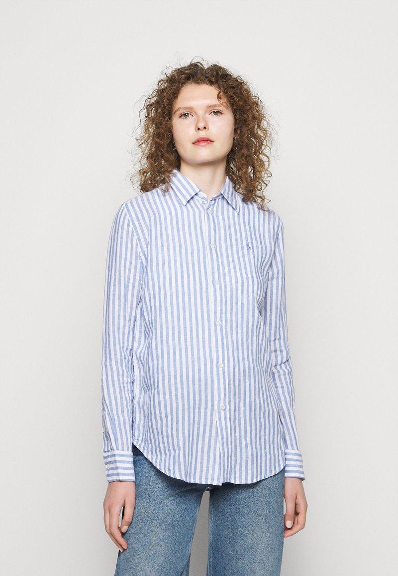 Polo Ralph Lauren - STRIPE LONG SLEEVE - Button-down blouse - white
