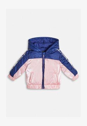 WATTIERTE ZWEIFARBIG - Winter jacket - blau