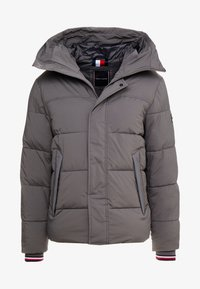 Tommy Hilfiger - STRETCH HOODED - Winter jacket - grey - 4