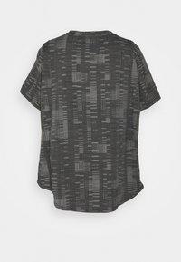 adidas Performance - TEE - Print T-shirt - black/white - 1