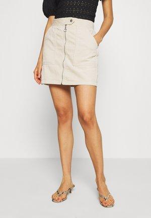 KIRA LIFE - Pencil skirt - beige