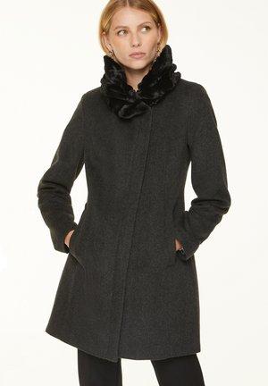 Classic coat - anthracite melange