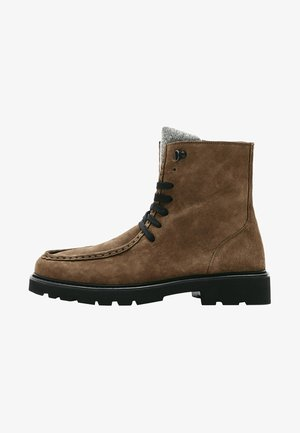 MIT WULST LIMITED  - Lace-up ankle boots - brown
