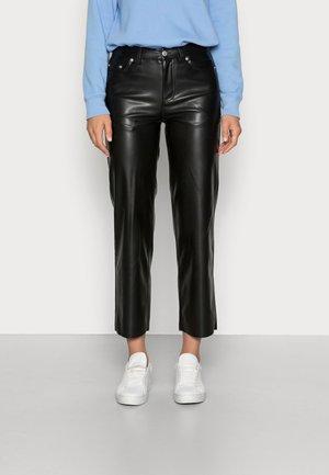 TROUSERS ELLE - Trousers - black