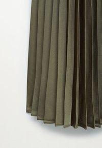 Mango - PLISADO - Spódnica plisowana - kaki - 8