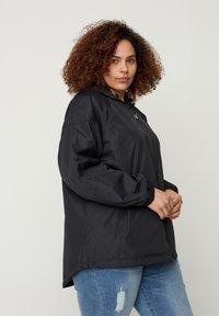 Zizzi - MTWENTY JACKET - Summer jacket - black - 0
