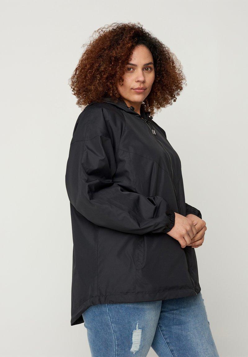 Zizzi - MTWENTY JACKET - Summer jacket - black