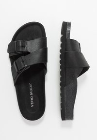 Vero Moda - VMMILLA  - Slippers - black - 3