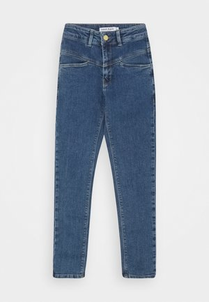 KERRY HIGH WAIST - Zúžené džíny - medium blue denim