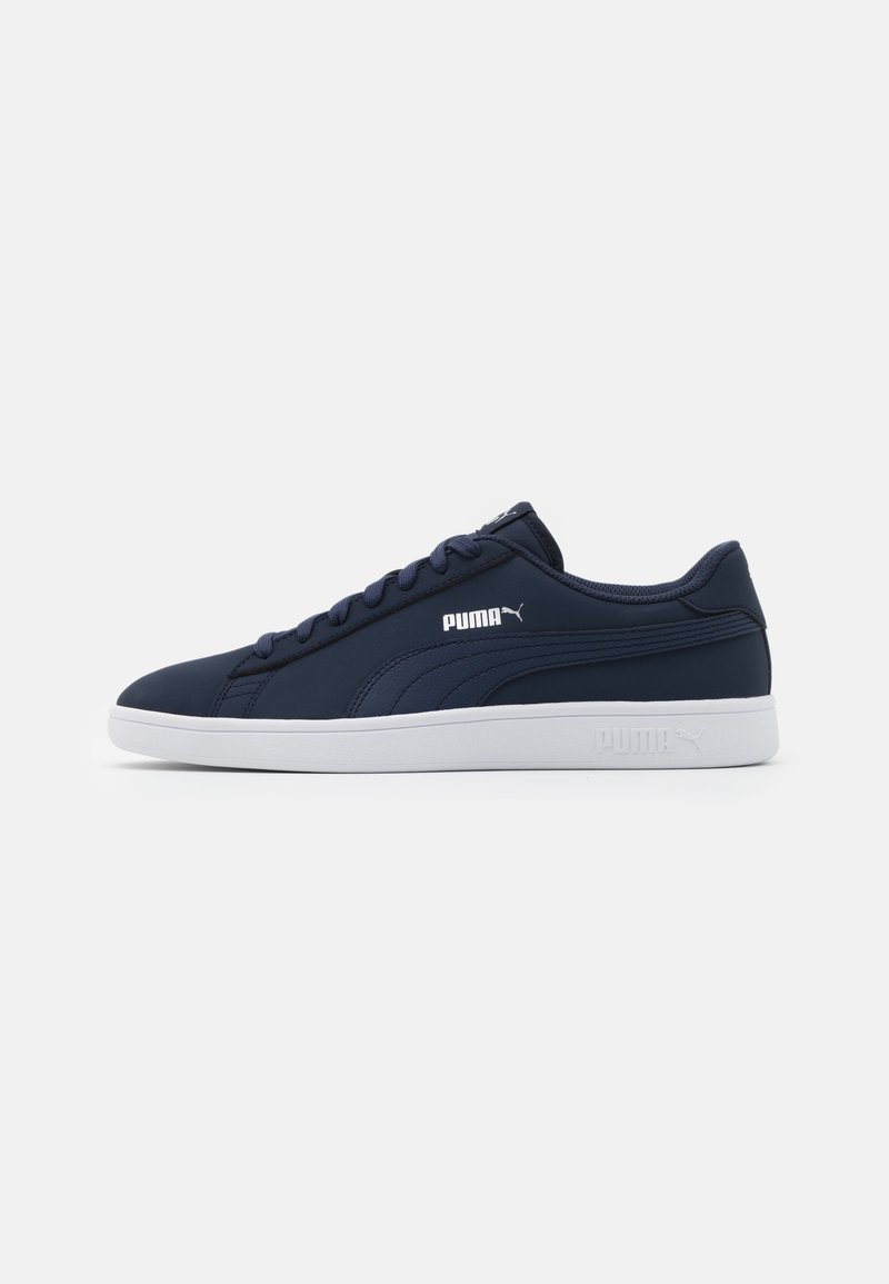Puma - SMASH  UNISEX - Sneakers - peacoat-white-whisper white