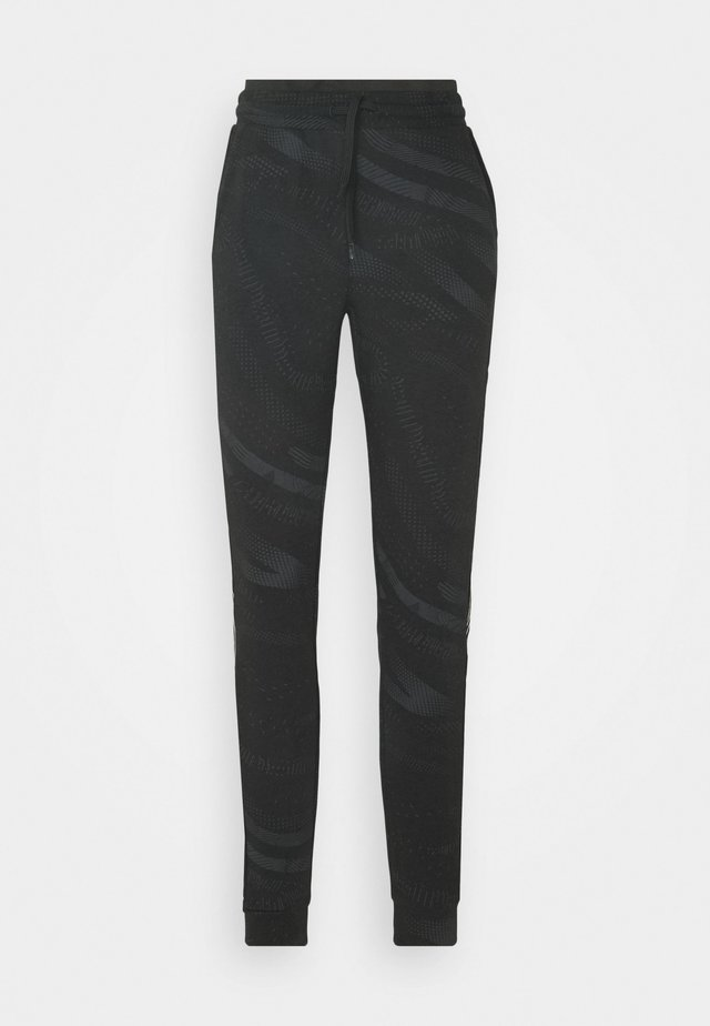 ONPONAY PANTS - Trainingsbroek - black/silver