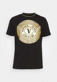LADY - Print T-shirt - black/gold