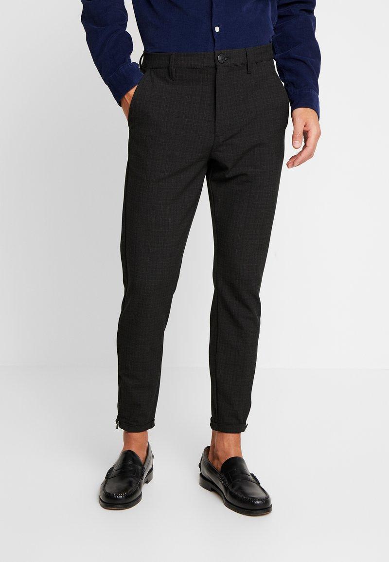 Gabba - PISA CROSS  - Trousers - dark grey