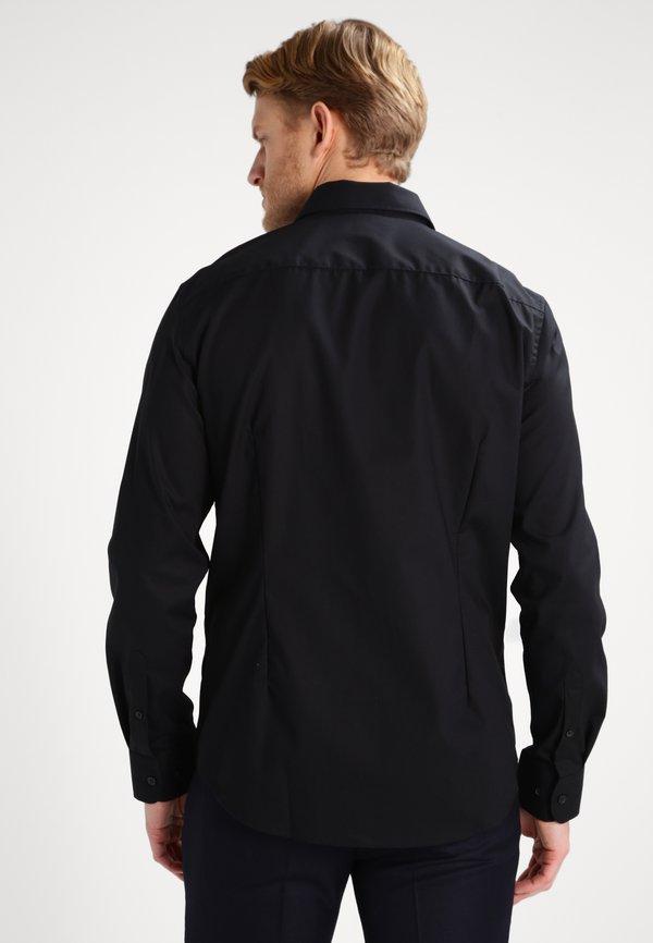 Pier One Koszula biznesowa - black/czarny Odzież Męska JLFC