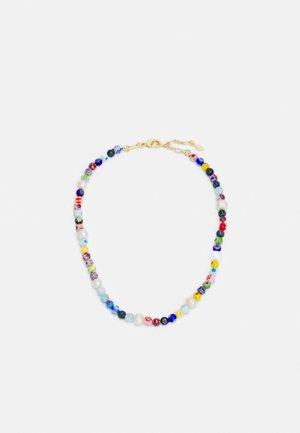 RAINBOW BEAD COLLAR NECKLACE - Necklace - multicolor