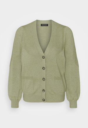 CARDIGAN - Cardigan - green tea