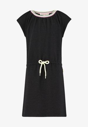 Žerzejové šaty - deep black