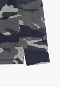 J.CREW - CAMO HENLEY - Long sleeved top - heather slate - 2