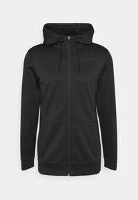 Nike Performance - THRMA  - Zip-up hoodie - black/dark grey - 0