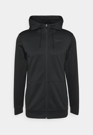 THRMA HD FZ - Zip-up hoodie - black/dark grey