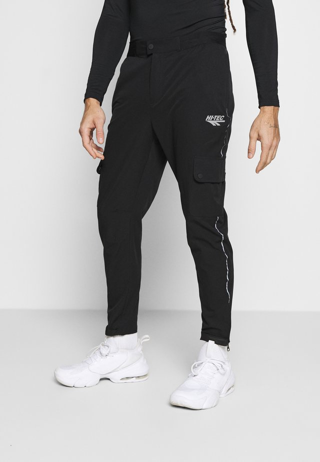 PIETRO TRAINING - Pantaloni sportivi - black