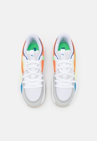 Puma - COURT RIDER TWO FOLD - Basketball shoes - white/palace blue - 3
