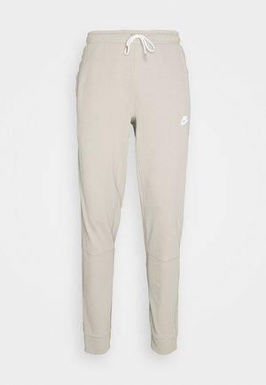 MODERN  - Tracksuit bottoms - stone/ice silver/white