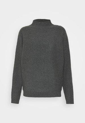VIRAMAS - Svetr - dark grey melange