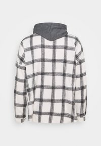 Sixth June - TARTAN WITH HOOD - Skjorta - white/grey - 7