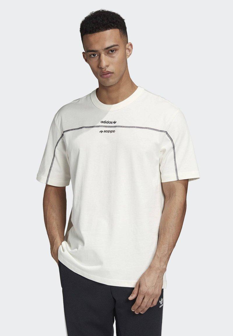 adidas Originals - R.Y.V. T-SHIRT - Print T-shirt - white