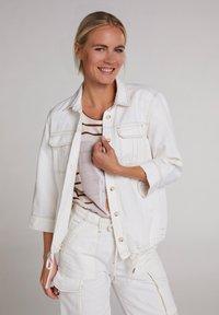 Oui - Outdoor jacket - antique white - 0