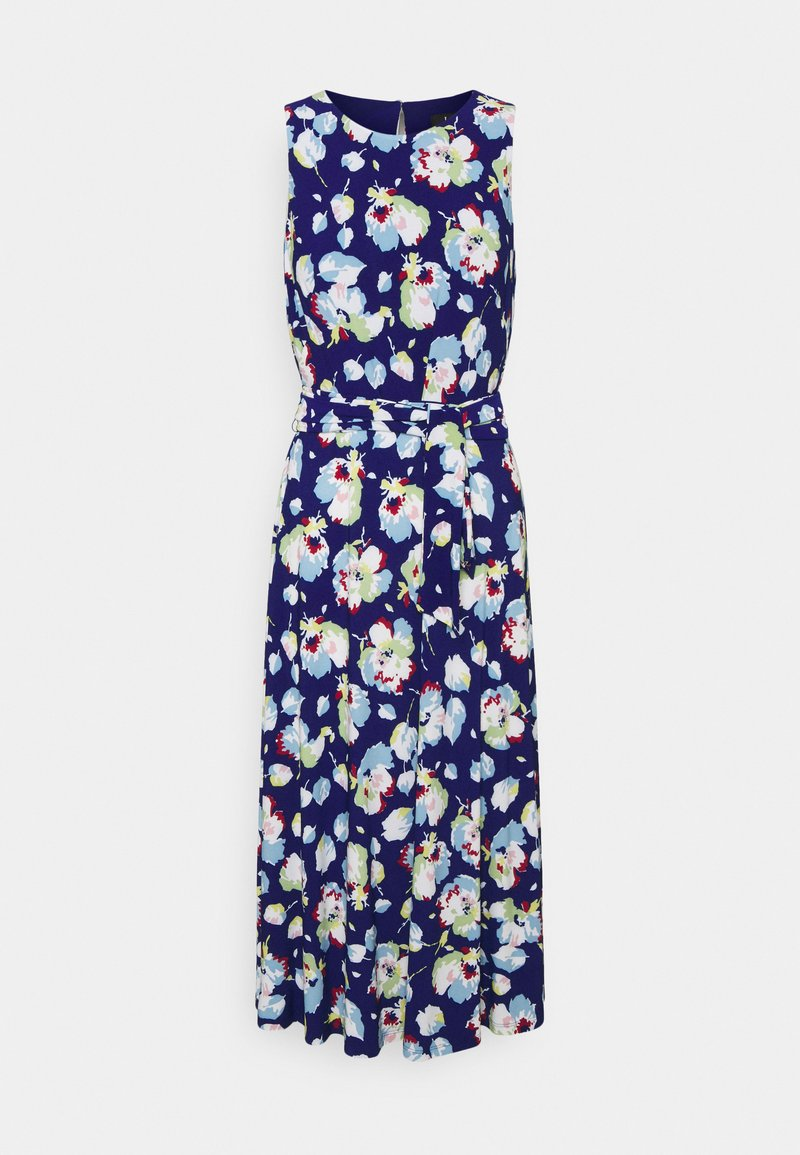 Lauren Ralph Lauren - PRINTED MATTE DRESS - Jersey dress - sporting royal