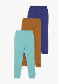 Friboo - 3 PACK - Jogginghose - sudan brown/navy blue