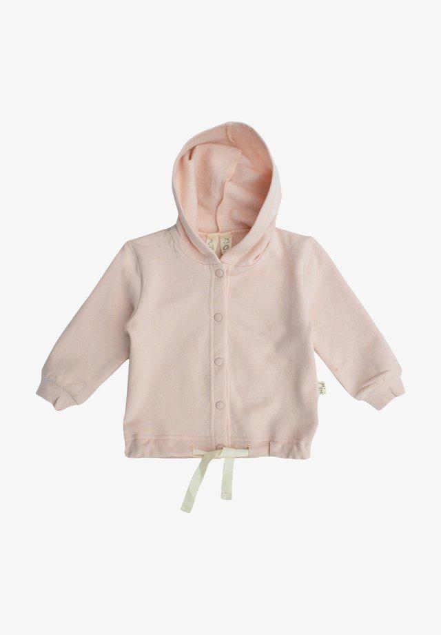 TONI - Zip-up hoodie - powder rose