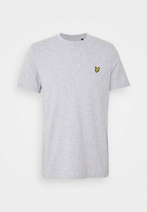 PLAIN - T-shirt - bas - light grey marl