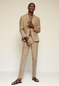 Mango - Blazer jacket - beige - 1