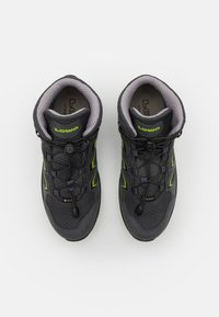 Lowa - INNOX EVO GTX QC JUNIOR UNISEX - Hiking shoes - anthrazit/limone - 3