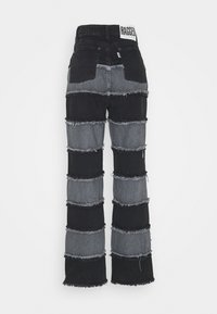 The Ragged Priest - EXPOSED SEAM PANELLED STRIPE - Relaxed fit jeans - grey - 1
