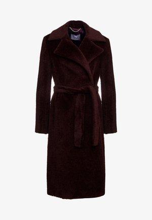 LAVAGNA - Classic coat - bordeaux