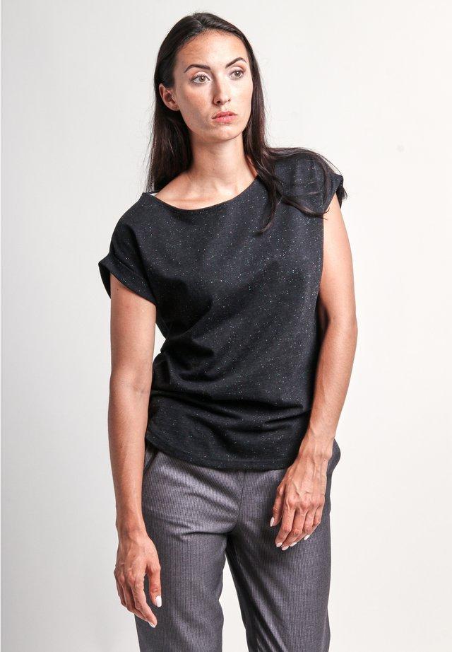 BELL NEP - Print T-shirt - black nep