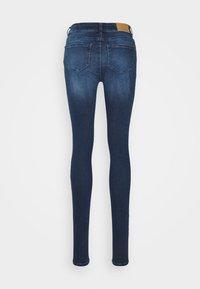 Noisy May Tall - NMLUCY - Jeansy Skinny Fit - dark blue denim - 1