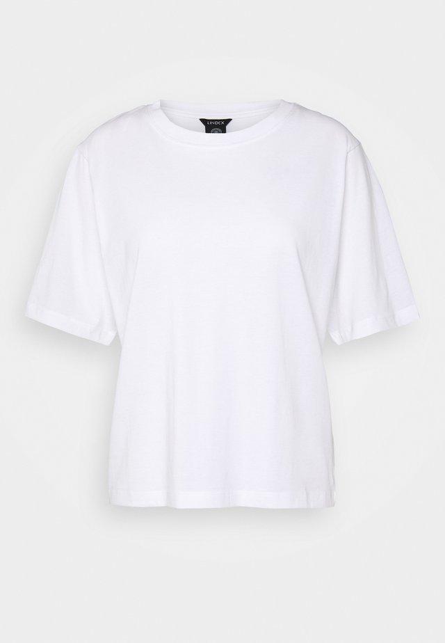 TEE ERICA - T-paita - white