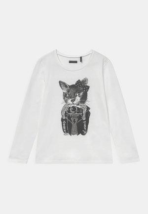 TEE - Pitkähihainen paita - blanc cassé