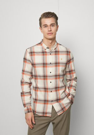 BUTTERFIELD CHECK - Skjorta - moroccan orange