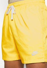 Nike Sportswear - FLOW - Shorts - opti yellow/white - 3