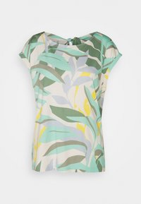 s.Oliver - T-shirt print - ocean green - 0