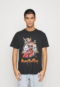 Diamond Supply Co. - NO MERCY TEE - Print T-shirt - black - 0