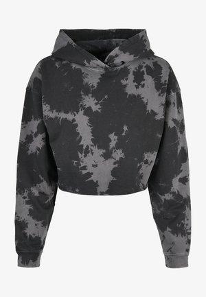 Hoodie - black grey