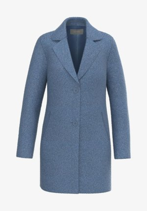 GERTY - Classic coat - powderblue melange